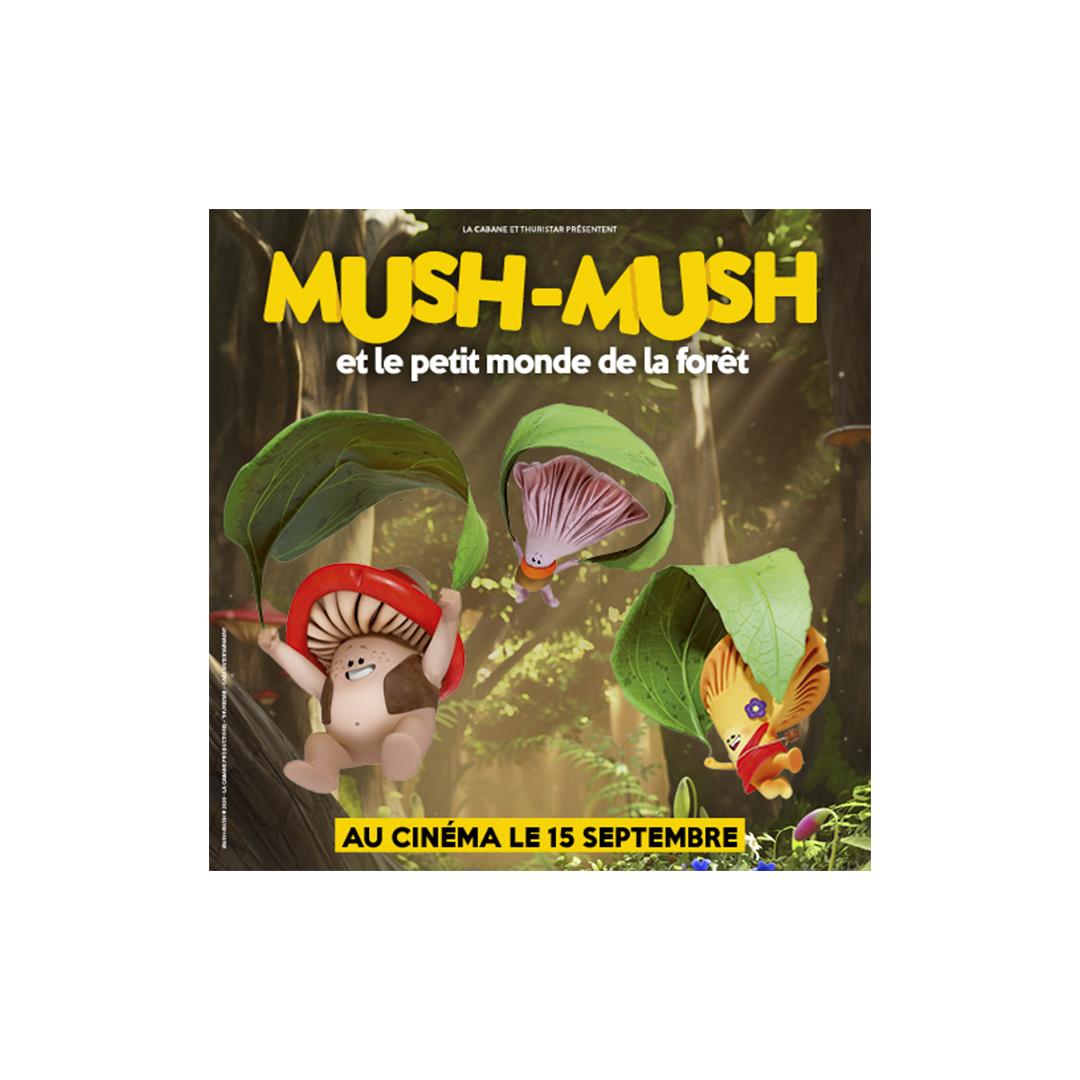 MUSH-MUSH ON THE BIG SCREEN!