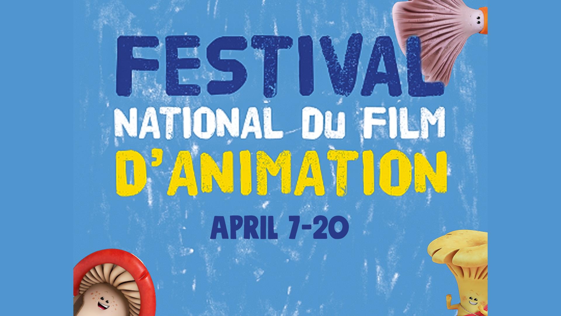 MUSH-MUSH SÉLECTIONNÉ AU FESTIVAL NATIONAL DU FILM D'ANIMATION